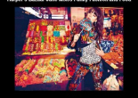 Harper's Bazaar June Mixes Funky Fashion and Food
