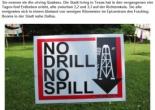 """Fracking Rebellion Texas Erdbeben in """"Irving Quakes"""""""