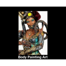Body Painting Art By Lorie Hamel