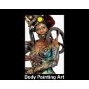 Body Painting Art By Lorie Hamel