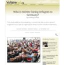 Asyl zoekers via Twitter naar Duitsland gelokt