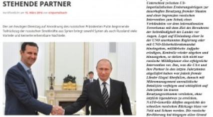 Russland braucht keine Marionetten sowie die USA
