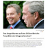 Tony Blair Und George W.Bush Kriegsverbrecher