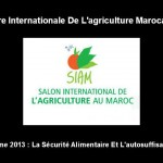 Foire agriculture-marocaine