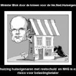 minister Blok NVH en NHG