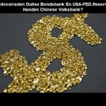 Goud Duitse Bank & FED-Reserve In China