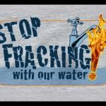 Stop Fracking Met Ons Water