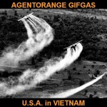 AgentOrange Gifgas door U.S.A.  in Vietnam