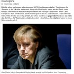 Merkel Lakei van Washington