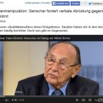 Medienmanipulation ARD - ZDF - Springer - Bild