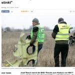 BND theorie Abschuss MH17 stinkt