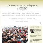 Asylzoekers via Twitter naar Duitsland gelokt