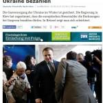 EU betaalt gasrekening Ukraine aan Rusland