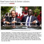 France Loots 14 African Countries