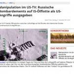 USA-TV sender PBS Benutzt Russische Bilder