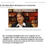 Menings-Terreur In Oostenrijk