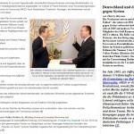 Deutschland und die Uno gegen Syrien